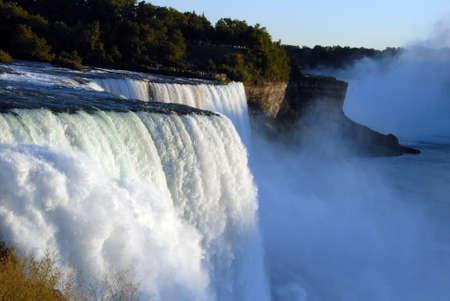scenic Niagara Falls in New York usa Stock Photo - 8698168