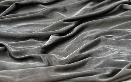 tela seda: textura gris tela de seda satinada negra con detalles