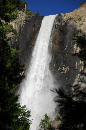 bridalveil fall: Bridalveil fall at Yosemite National Park California America