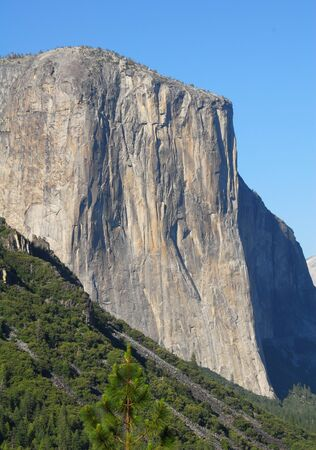 El Capitan Mountain in Yosemite National Park california photo