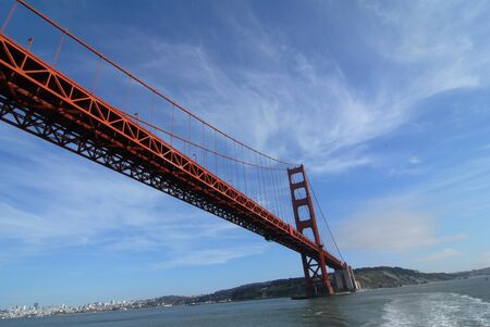 Golden Gate Bridge cruise over the bay in San Francisco photo