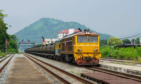 freight train: Freight train oil
