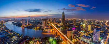 Bangkok Panorama City  Foto de archivo - 44617363