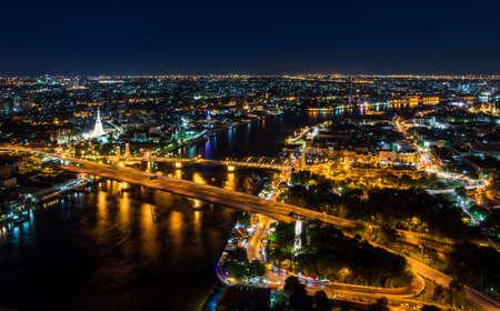 phraya: Bangkok City Chao Phraya River Landmark