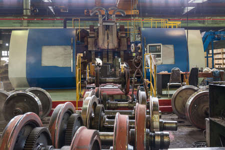 Wheel Lathe Train