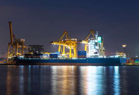 Shipcargo loading container cargo for shipyard