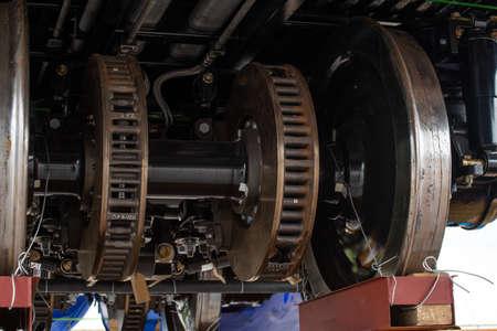 Train brake system