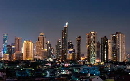 Bangkok City Landscape View
