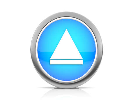 vcr: icon for web Stock Photo