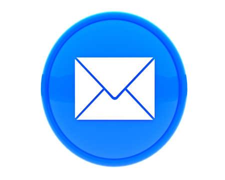 envelope: icon for web Stock Photo