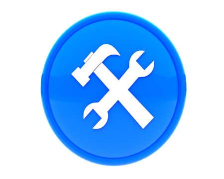 option key: icon for web Stock Photo