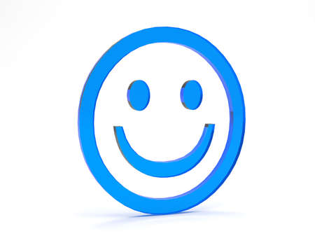 smiley face: symbol for business