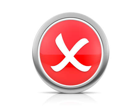 x marks the spot: icon for web Stock Photo