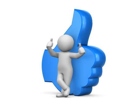 thumbs up icon: al igual que los pulgares para arriba icono
