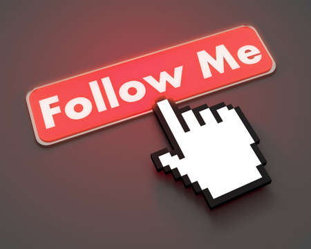 follow me button symbol photo