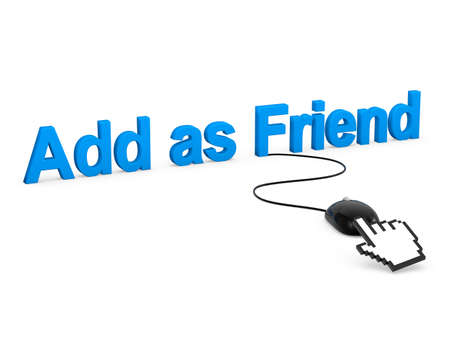 Add as Friend symbol photo