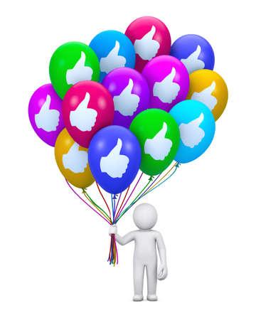 tweet balloon: social media balloon symbol