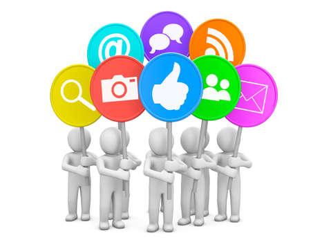 social media icon photo