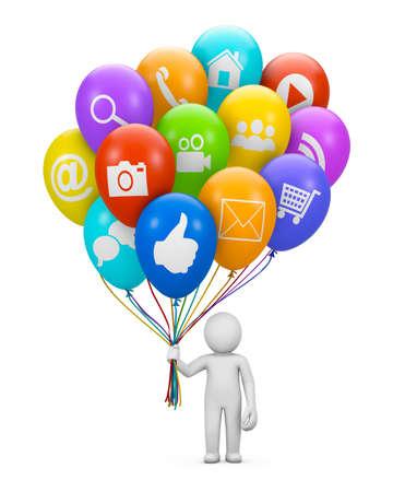 tweet balloon: social media icon