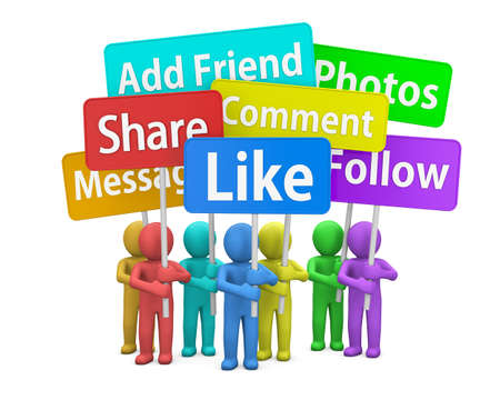 social media symbol photo