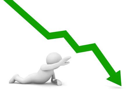 demotion: man and negative graph