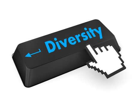 elearn: diversity keyboard 3d render