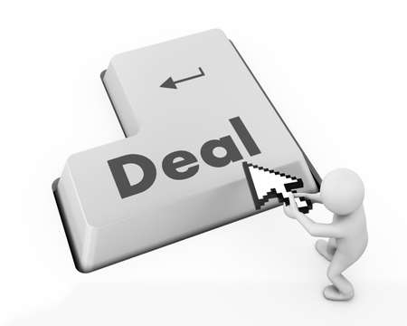 great deal: Deal Key On Keyboard Meaning Great Offers Or Offer