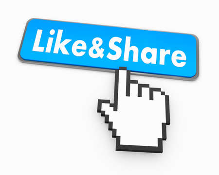 like and share button photo