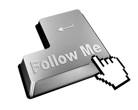 follow me button photo