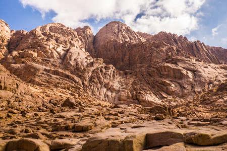 monte sinai: Vista desde el Monte Sina�. Egipto.