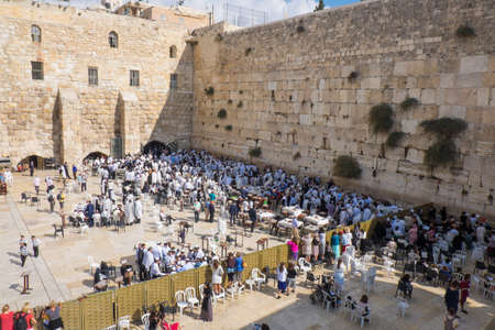 kotel: the Western Wall in jerusalem