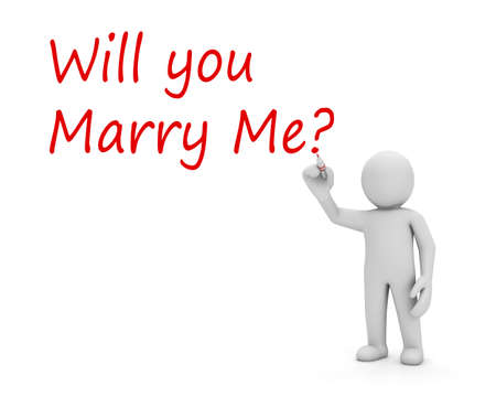 will you marry me: human writing Will you marry me word