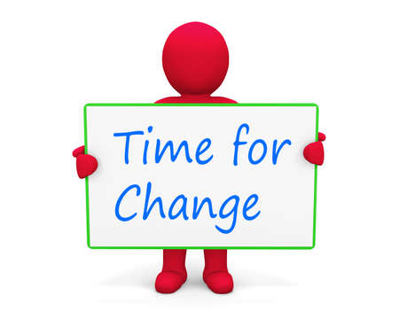 man write time for change