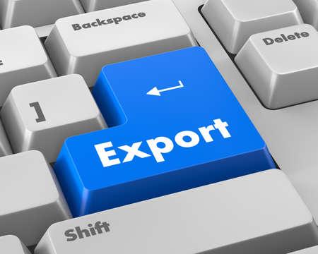 key handover: export computer keyboard key button, raster