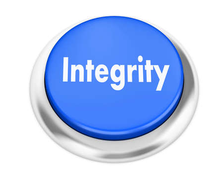elearn: integrity button on isolate white background