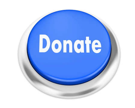 solicitation: donate button on isolate white background