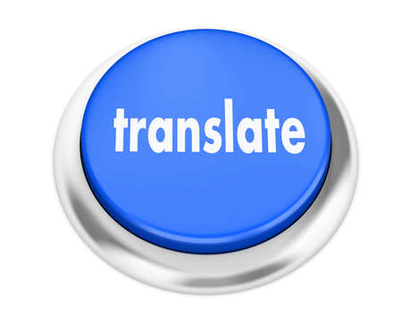 computer peripheral: Translate button on isolate white background