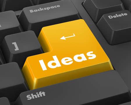 keyboard: Idea word on keyboard button
