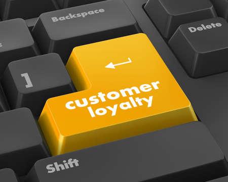 keypad: button keypad with customer loyalty word, raster