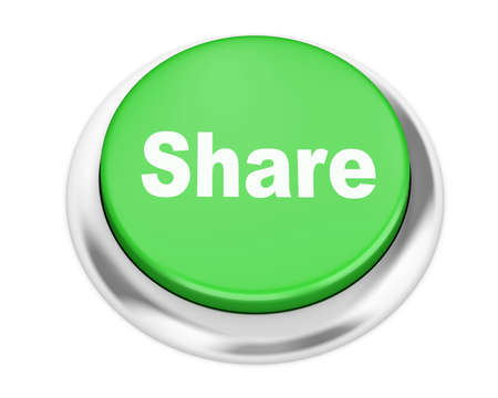 microblogging: share button on isolate white background