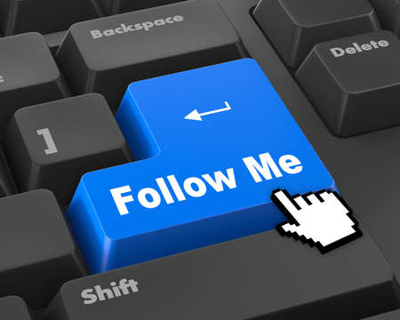 follow: keyboard with  Follow Me button