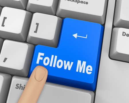 keyboard with  Follow Me button
