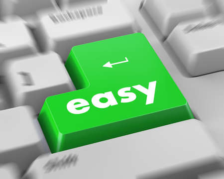 keyboard with easy button