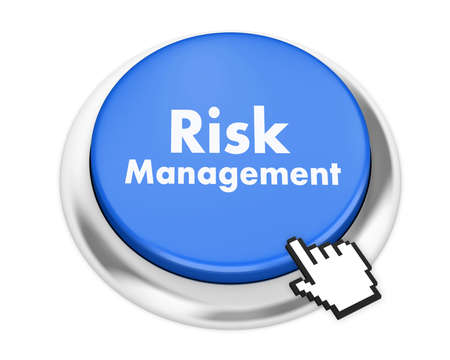 minimization: Risk Management button on isolate white background