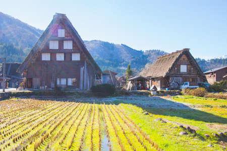 shirakawago: Japanese Village in Autumn- Shirakawago