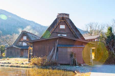 shirakawa go: Japanese Village in Autumn- Shirakawago