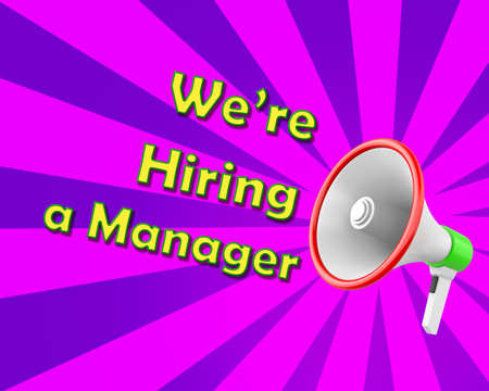 3d manager: megaphone we are hiring a manager 3d rendering