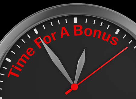 extra cash: Time for a bonus word on concept clock 3d rendering