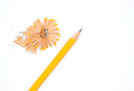 grafit: pencil isolated on white background