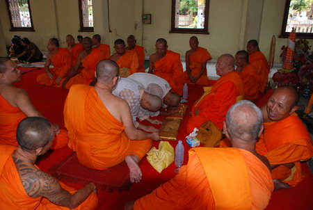 ordain: Priest Thai